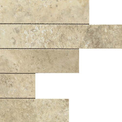Aix Blanc Brick Tumbled | Piastrelle ceramica | Atlas Concorde