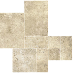 Aix Blanc Kit Multiformato Tumbled | Ceramic tiles | Atlas Concorde
