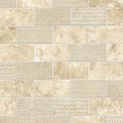 Aix Blanc Minibrick Tumbled | Piastrelle ceramica | Atlas Concorde