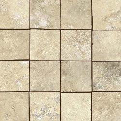 Aix Blanc Mosaico Tumbled | Ceramic mosaics | Atlas Concorde