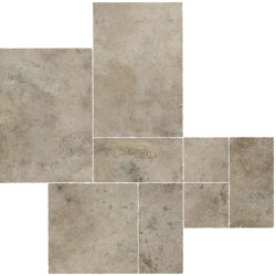 Aix Cendre Kit Multiformato Tumbled | Ceramic tiles | Atlas Concorde