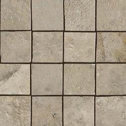 Aix Cendre Mosaico Tumbled | Ceramic mosaics | Atlas Concorde