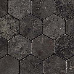 Aix Fumée Honeycomb Tumbled | Ceramic mosaics | Atlas Concorde