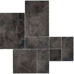 Aix Fumée Kit Multiformato Tumbled | Ceramic tiles | Atlas Concorde