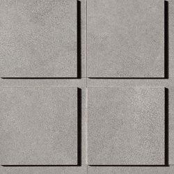 Blaze Aluminium Mosaico 3D Factory | Ceramic tiles | Atlas Concorde
