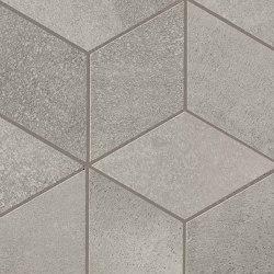 BLAZE Aluminium Mosaico Esagono Matt | Ceramic tiles | Atlas Concorde