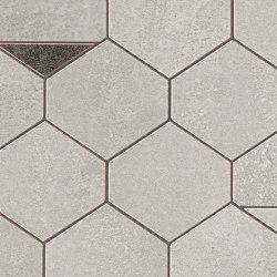 Blaze Aluminium Mosaico Nest | Ceramic tiles | Atlas Concorde