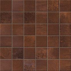 Blaze Corten Mosaico Matt | Keramik Mosaike | Atlas Concorde