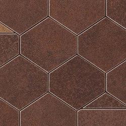 Blaze Corten Mosaico Nest | Ceramic tiles | Atlas Concorde