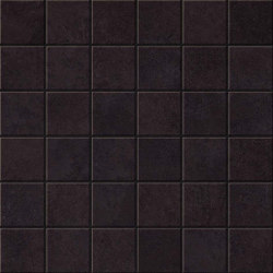 Blaze Iron Mosaico Matt | Ceramic mosaics | Atlas Concorde