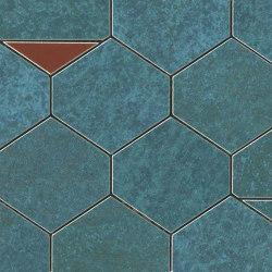 BLAZE Verdigris Mosaico Nest | Ceramic tiles | Atlas Concorde