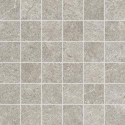 Dolmen Pro Porfido Cenere Mosaico | Ceramic mosaics | Atlas Concorde