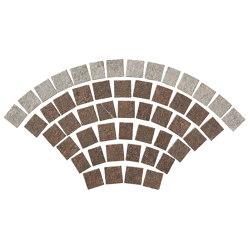 Dolmen Pro Porfido Cenere+Rosso Coda di Pavone Grip Tumbled | Ceramic mosaics | Atlas Concorde