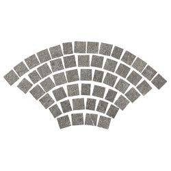 Dolmen Pro Porfido Grigio Coda di Pavone Grip Tumbled | Ceramic mosaics | Atlas Concorde