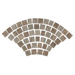 Dolmen Pro Porfido Mix Coda di Pavone Grip Tumbled | Ceramic mosaics | Atlas Concorde