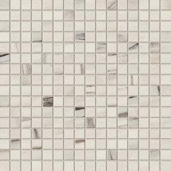 Marvel Bianco Fantastico Mosaico Lappato | Ceramic mosaics | Atlas Concorde