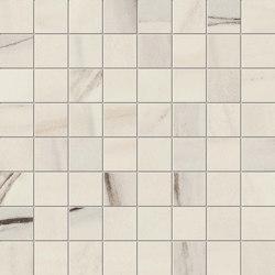 Marvel Bianco Fantastico Mosaico Matt | Mosaicos de cerámica | Atlas Concorde