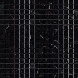 MARVEL Black Atlantis Mosaico Lappato | Keramik Mosaike | Atlas Concorde