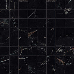 Marvel Black Atlantis Mosaico Matt | Ceramic mosaics | Atlas Concorde