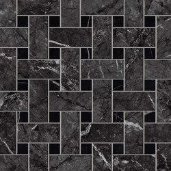 MARVEL Grigio Intenso Basket Weave Matt | Ceramic mosaics | Atlas Concorde