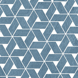 Raw Blue Twist | Ceramic mosaics | Atlas Concorde