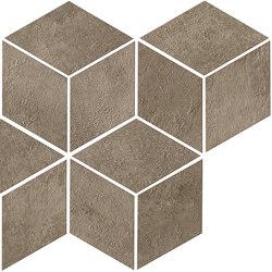 Raw Mud Mosaico Esagono | Mosaïques céramique | Atlas Concorde