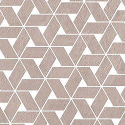 RAW Rose Twist | Mosaici ceramica | Atlas Concorde