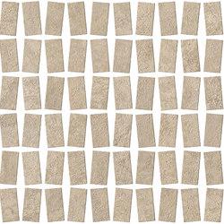 RAW Sand Mosaico Castle | Mosaïques céramique | Atlas Concorde