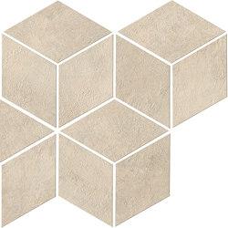 Raw Sand Mosaico Esagono | Ceramic mosaics | Atlas Concorde