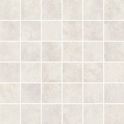 RAW White Mosaico Matt | Mosaïques céramique | Atlas Concorde