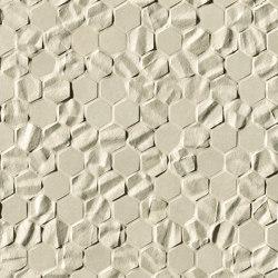 Bloom Beige Star Star Esagono Mosaico | Wall tiles | Fap Ceramiche