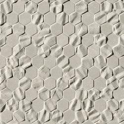 Bloom Grey Star Esagono Mosaico | Wall tiles | Fap Ceramiche