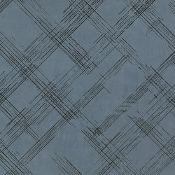 Bloom Metal Blue Silver Inserto | Wall tiles | Fap Ceramiche
