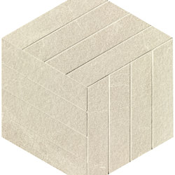 Blok Beige Cube Mosaico | Ceramic flooring | Fap Ceramiche