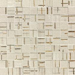 Blok Metal Beige Gold Mosaico | Wandmosaike | Fap Ceramiche