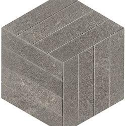 Blok Grey Cube Mosaico | Ceramic flooring | Fap Ceramiche