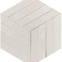 Blok White Cube Mosaico | Ceramic flooring | Fap Ceramiche