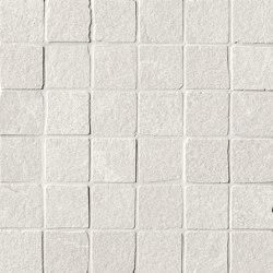 Blok White Macromosaico Anticato | Ceramic flooring | Fap Ceramiche