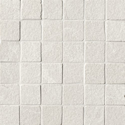 Blok White Macromosaico Anticato | Keramikböden | Fap Ceramiche
