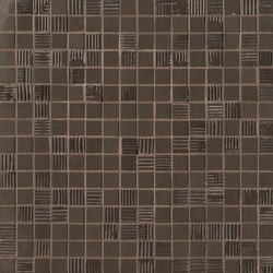 Mat&More Brown Mosaico | Pavimenti ceramica | Fap Ceramiche