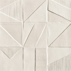 Mat&More Domino White | Wall tiles | Fap Ceramiche