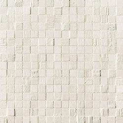 Mat&More White Mosaico | Pavimenti ceramica | Fap Ceramiche