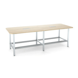 FrameFour WorkBench Double | Tavoli contract | Steelcase