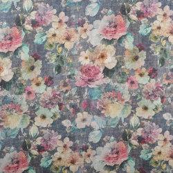 Demeter | Colour Blue | Drapery fabrics | DEKOMA