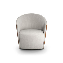 Fuller Armchair and Pouf | Armchairs | Presotto