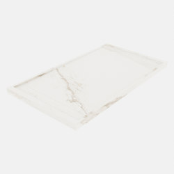 HYDRA Larsen Super Blanco-Gris Natural | Shower trays | INALCO