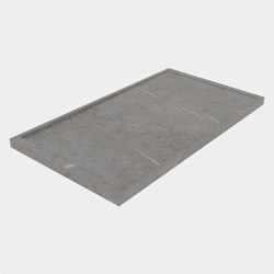 HYDRA Senda Gris Natural | Shower trays | INALCO