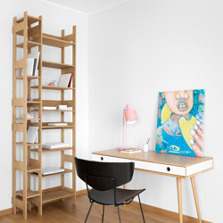 Shelf LIFT Small oak veneered | Shelving | Radis Furniture