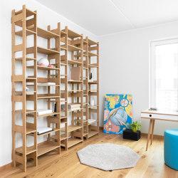 Shelf LIFT Large oak veneered | Estantería | Radis Furniture