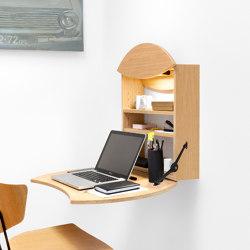 Scrivania a muro pieghevole RADIUS | Scrivanie | Radis Furniture